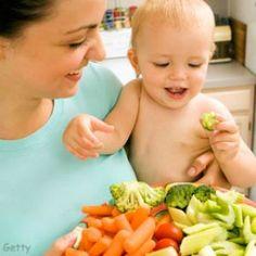 Cómo estimular una alimentación saludable en los niños