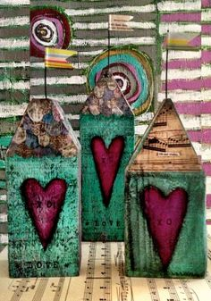 House Totem Home is Where the Heart Is by kmichel on Etsy
