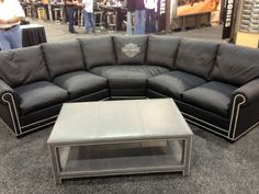HD 5748 Sectional Sofa Harley Davidson Enthusiast Furniture