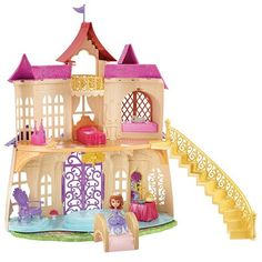 Disney Sofia The First Magical Talking Castle by Mattel #GiftIT #Kohls