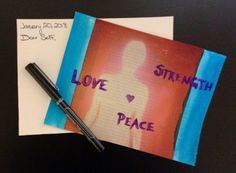 Postcard From Your Future Self: An Art Therapy Directive #Depression #GoalSetting