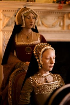 Catherine Howard's uncle, the Duke of Norfolk, found her a place at Court in the household of the King's fourth wife, the German Anne of Cleves. As a young and attractive lady-in-waiting, Catherine quickly caught the eye of Henry.