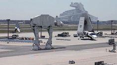 El vídeo falso de «Star Wars» en el aeropuerto de Frankfurt que arrasa en internet