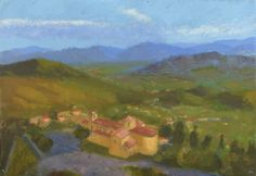 Anthony Lombardi  Arce - Italy 2017 oil on paper 35 x 50 cm