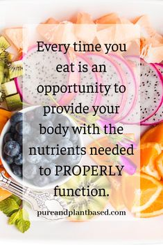 Healthy Motivation Nutrition Quote What you eat is extremely important when it comes to your health. You cannot expect to feel good and be healthy if you are not providing your body with the fuel it needs to function. Nutrition Education, Nutrition Holistique, Nutrition Quotes, Nutrition Plans, Proper Nutrition, Child Nutrition, Citations Nutrition, Eat Better, Healthy Recipes