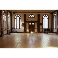 Empty Ballet Studio ❤ liked on Polyvore featuring house, rooms, home, pictures and backgrounds