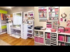 Organization! clean your room & Inexpensive Crafting Ideas diy room decor - YouTube