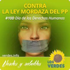 10 de diciembre, Día de los Derechos Humanos contra la Ley Mordaza