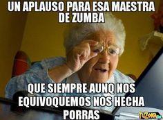 Memes de Zumba