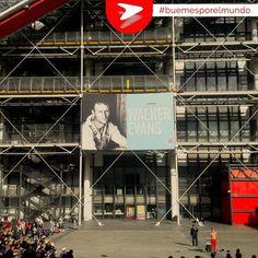 En el Centro Pompidou podemos encontrar una de las mejores colecciones de arte moderno y contemporáneo del mundo. Además alberga un centro de investigación musical y acústica, y una biblioteca pública. #Buemesporelmundo #París