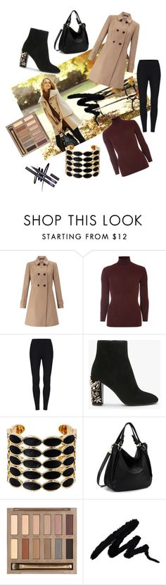 """""""Untitled #43"""" by littlemaya5 ❤ liked on Polyvore featuring Ann Taylor, Miss Selfridge, Dorothy Perkins, House of Harlow 1960 and Urban Decay"""