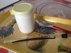 yaourt nature à la vanille naturelle