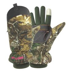 539cbb64d2ae3 Hot Shot Women's Predator Pop Top Hunting Gloves (with fingers) - Dick's  Sporting Goods