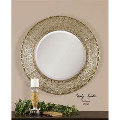 Uttermost 11603 B Alita Champagne Decorative Mirror
