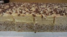 Jednoduchý zákusek z ořechového těsta a karamelového krému. Není co pokazit, tak šup do toho. Mňamka! Autor: Mineralka