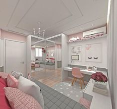 Teen girl bedrooms, stop by this ref for that truly superb bedroom design, make-over number 5230094180 Cute Bedroom Ideas, Girl Bedroom Designs, Awesome Bedrooms, Bedroom Themes, Small Room Bedroom, Room Decor Bedroom, Girls Bedroom, Teen Bedroom Colors, Bedroom Furniture
