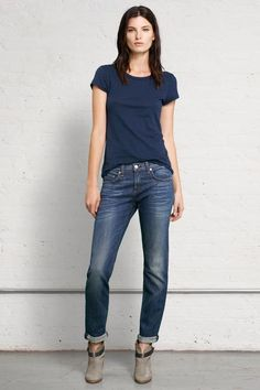 Shop the women's Dre jean from rag & bone. Relaxed slim fit boyfriend jean. Made in Los Angeles. Free shipping on U.S. orders.