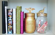 These jars make me happy! :: Make your own with a kit from Darby Smart.