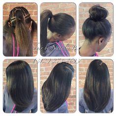 "Now THIS is a versatile sew-in ....""When choosing the BEST matters, the elite choose me."" ~ Natalie B., Master Hair Weave Artist (312) 273-8693....ORDER HAIR: www.naturalgirlhair.com  FOLLOW ME IG: @iamhairbynatalieb FB: Hair by Natalie B."