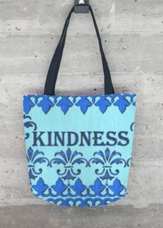 Tote Bag - Blush and Blue by VIDA VIDA 5IsQVd2