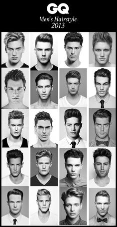 Men's hairstyles for 2013. Which one are you sporting? #maletrends #menshair #mensfashion