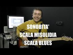 Lezioni di chitarra:sonorita' scala misolidia-scala blues | Tecnicaperchitarra.com