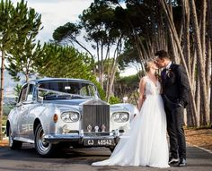 Throwback to one of the last weddings we did before hit: Kirsten & Jaun and their fairytale wedding with our 1964 Rolls Royce SCIII 💙 so pretty! Wedding Car, Wedding Dresses, Rolls Royce, Buick, Jaguar, Muscle Cars, Fairytale, Mustang, Chevrolet