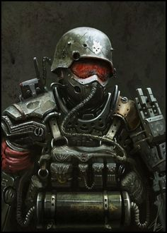 Post Soldier by Alexander Trufanov Donbot