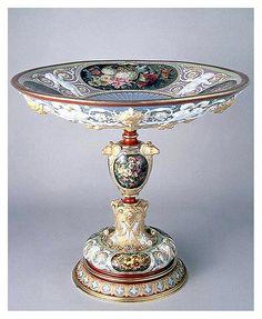 Copa Benvenuto Cellini,Sevres,1844  Museo del Louvre