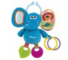 Chicco - Sonajero Chicco Elefante primeras actividades Baby Senses Line Chicco Baby, Baby Sense, First Time Parents, Baby List, Soft Plastic, Different Textures, Little Star, Baby Gear, Baby Toys