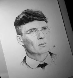 Cillian Murphy Pencil Art Drawings, Art Drawings Sketches, Peaky Blinders Tommy Shelby, Joker Art, Portrait Sketches, Cillian Murphy, Aesthetic Anime, Caricature, Creative Art
