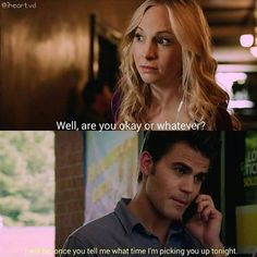 I love them so much! #steroline #tvd @paulvedere @craccola