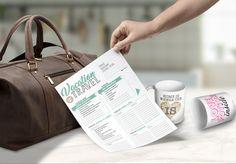 VACATION TRAVEL - A4 printable di novezerouno su Etsy