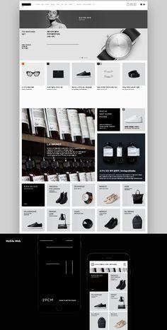 29CM Brand eXperience Design Renewal on Behance