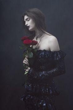 purple macabre by tereza haszprunarova