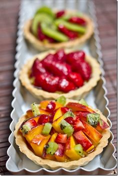 Easy tart recipe.  Best French Fruit Tart in Brisbane discovered at French Twist.