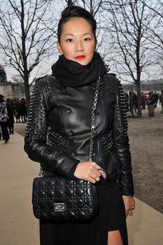 Tina Leung - Paris Fashion Week Womenswear Fall/Winter 2012