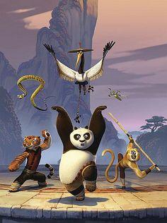 Kung fu panda characters beautiful at www.spiritualitytemple.com/spiritual-healing/