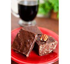 Chocolate Pecan Fudge #scheels