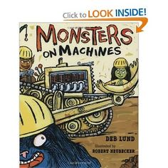 Meet Stinky Stubb, Dirty Dugg, Gorbert, and Melvina, the craftiest crew of monsters ever to build a house. With hard hats and heavy machinery, these feisty fellas dig, dump, hammer, nail, and—after a surprise lunch of Mama's special monsteroni and cheese—they even squeeze in time for an afternoon snooze.            With backhoes, bulldozers, and mud mounds galore, here is a book that young construction enthusiasts will want to dig into over and over again.  Show More   Show Less