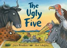 Win a copy of the new book from the creators of the Gruffalo (UK/Eire only). Closes 7pm 11th September. http://www.playingbythebook.net/2017/09/04/theuglyfive/
