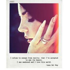 Lana Del Rey Quote <3