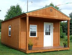 Grandview Buildings 10x12 Garden Shed Red Steel Roof