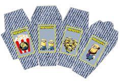 Minions: Free Printable Mini Kit.