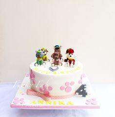 Paw Patrol themed cake