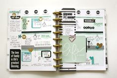 'Life is Good' weekly Happy Planner™️ pages & helpful tips for planning by mambi Design Team member Jen Randall | me & my BIG ideas