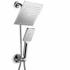 AKDY 1.8 GPM Rain Adjustable Shower Head | Wayfair