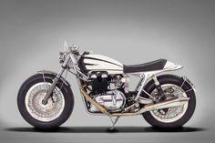 Ton-Up Garage gives a 2006 Triumph Bonneville a vintage hot rod vibe