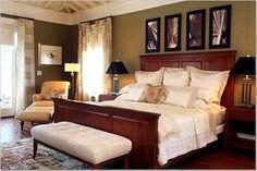 dark+khaki+wall+paint | ... paint color like this in the bedroom. Thinking Ralph Lauren Khaki