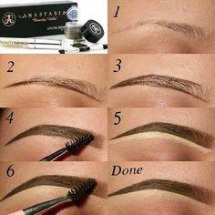 Make Up; Make Up Looks; Make Up Augen; Make Up Prom;Make Up Face; Eyebrow Makeup Tips, Pencil Eyeliner, Makeup Kit, Skin Makeup, Beauty Makeup, Makeup Eyebrows, Eye Brows, Eyebrow Tinting, Sparse Eyebrows